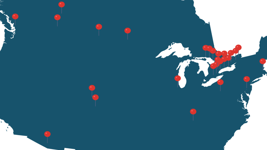 Dental Temping Locations